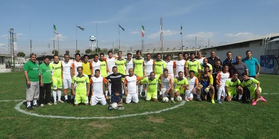 گزارش تصویری مسابقات فوتبال صنعت غذا تیم های کاکامی و پگاه تهران