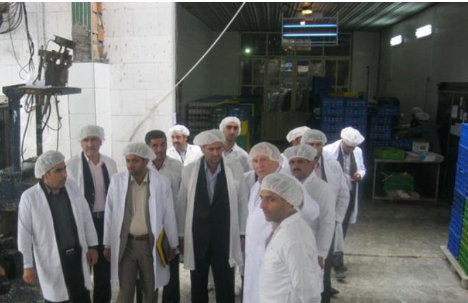بازدید نمایندگان مجلس از هراز