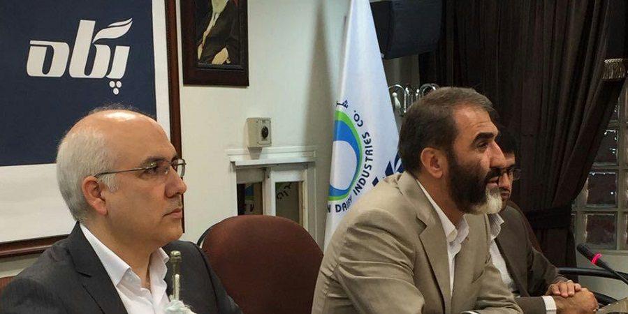 محمدتقی وقوعی مدیرعامل شرکت صنایع شیر ایران ، پگاه شد.