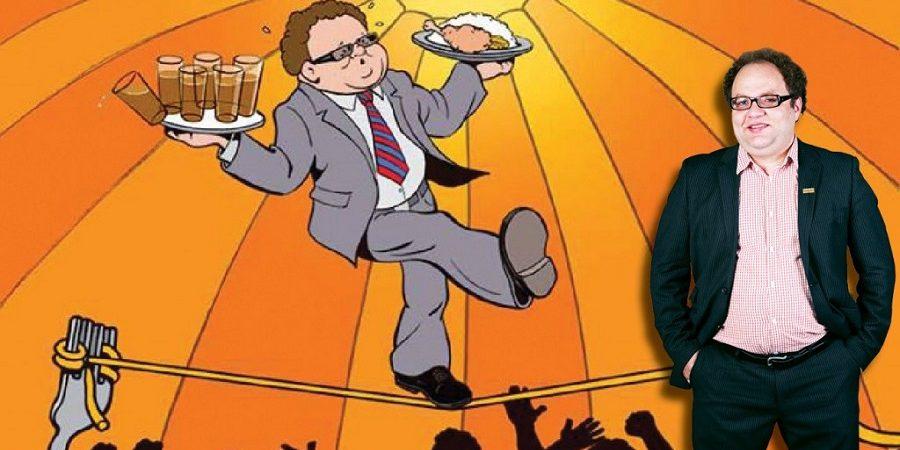 آقای خوشخوراک (مستر تیستر) به رستورانها ستاره میدهد