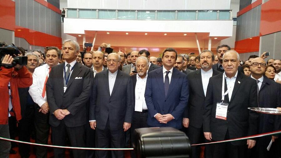 افتتاحیه نمایشگاه اختصاصی ایران در رم