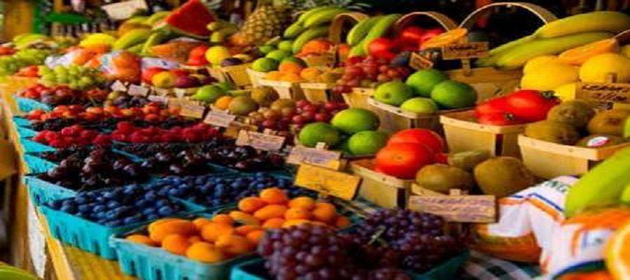 میوه دربازار خریداری ندارد