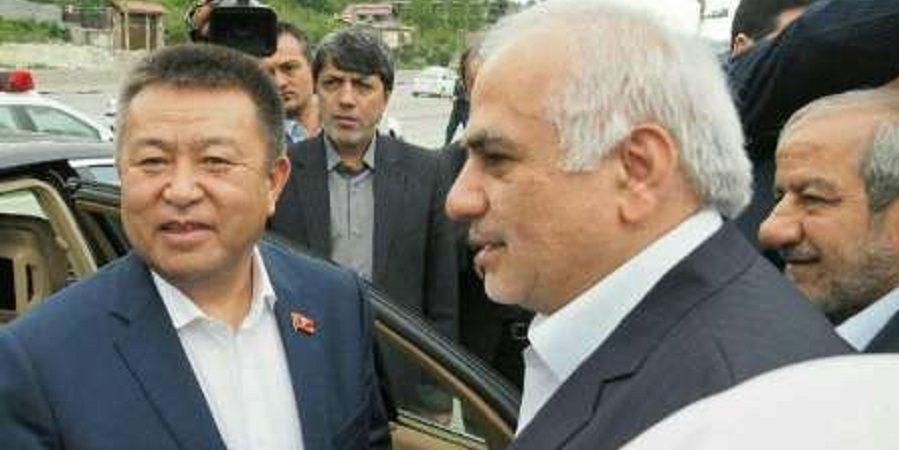 بازدید رئیس مجلس قرقیزستان از کارخانه کاله و علاقمندی این کشور برای جلب  سرمایه گذاری شرکت های مازندرانی
