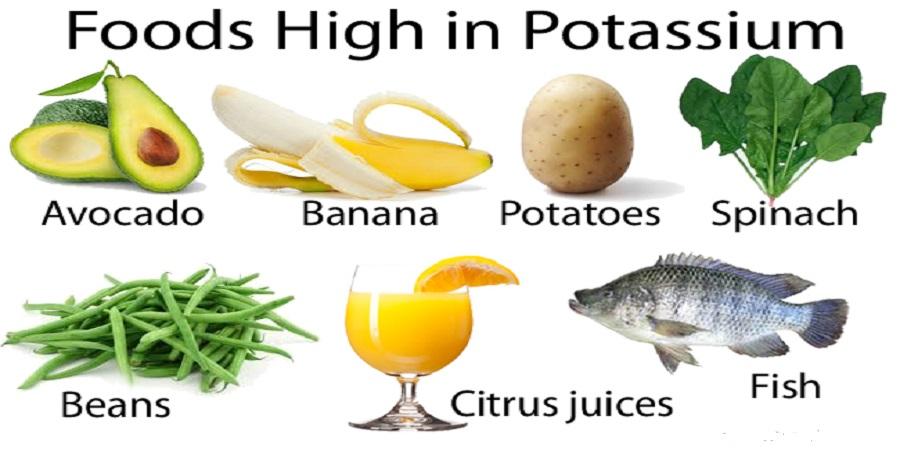 مواد غذایی حاوی پتاسیم قاتل فشار خون