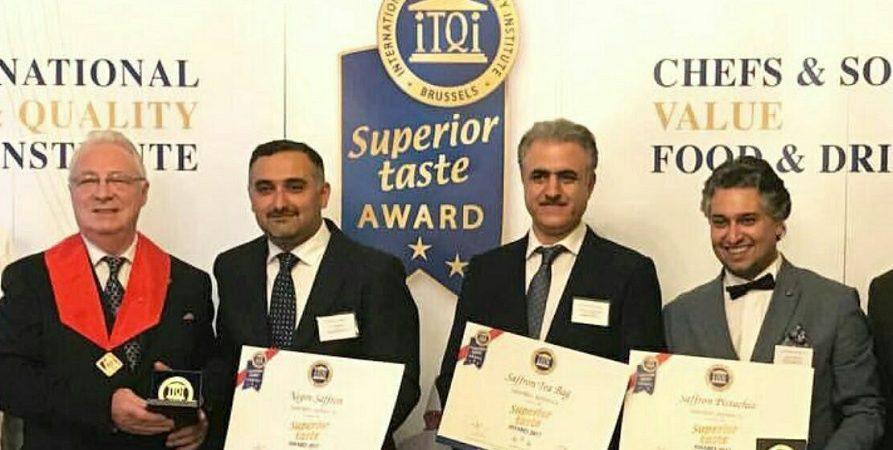 اهتزاز پرچم ایران همراه با معرفی محصولات سحرخیز در مراسم اعطا جایزه بین المللی طعم و کیفیت برتر در بروکسل – بلژیک