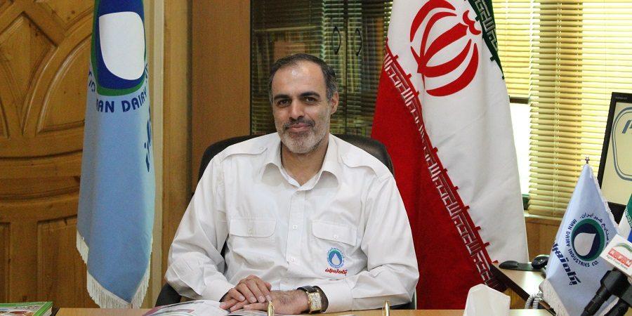 دکتر حسن جودکی مدیر عامل پگاه تهران : بیش از بیست درصد از محصولات این شرکت به ۲۷ کشور جهان صادر می شود
