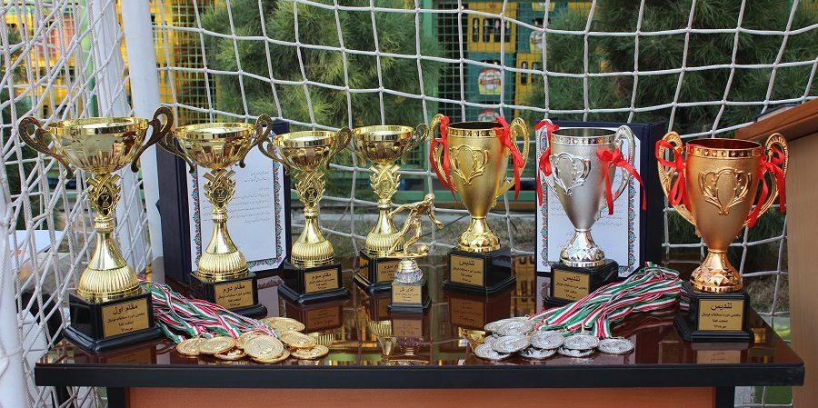 آمارانت قهرمان پنجمین دوره مسابقات فوتبال صنعت غذا شد