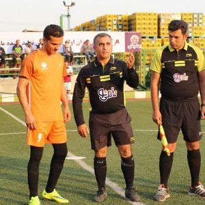 گزارش تصویری پنجمین دوره مسابقات فوتبال صنعت غذا / رویارویی تیم مهرام و بهنوش