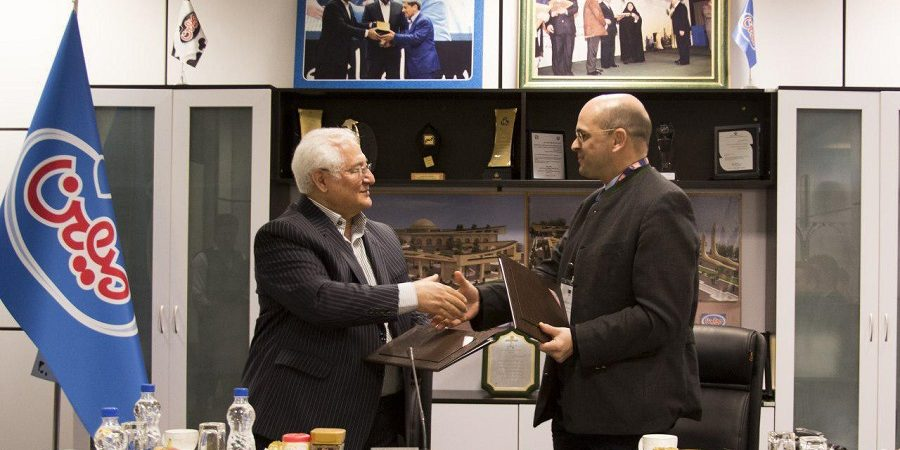دبیر کل انجمن لبنی اتحادیه اروپا در شرکت لبنیات میهن حضور یافت