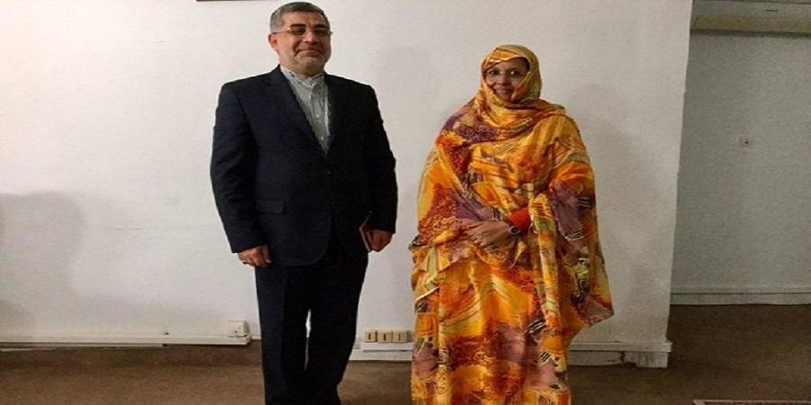 رایزنی سفیر ایران با وزیر کشاورزی موریتانی