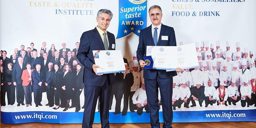 سحرخیز در قله موفقیت/گروه سحرخیز برای دومین سال متوالی، جایزه طعم برتر را دریافت کرد