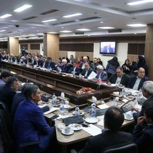 گزارشی از دیدار فعالان اقتصادی با وزیر جهاد کشاورزی در اتاق بازرگانی ایران+گزارش تصویری