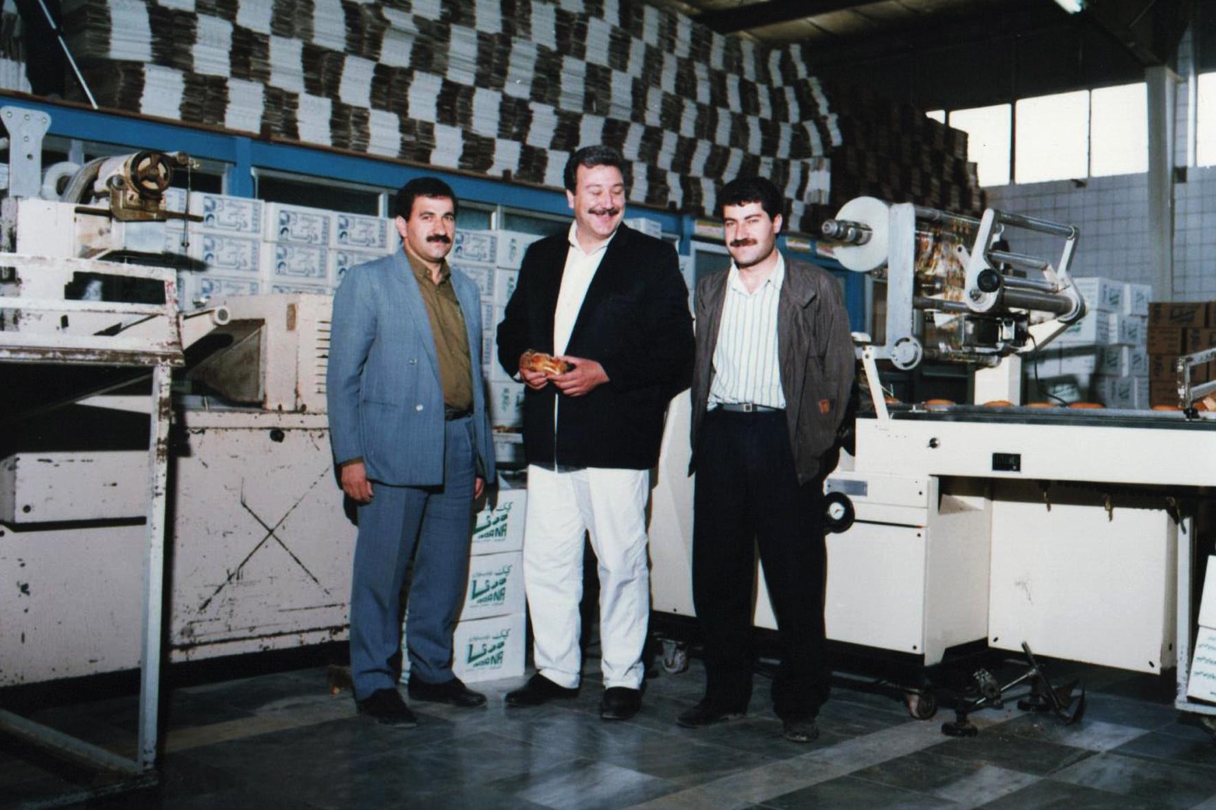 صمد رسولوی ( مدیرعامل شرکت درنا) شخصیت سال صنعت غذا در سال ۹۷ شد