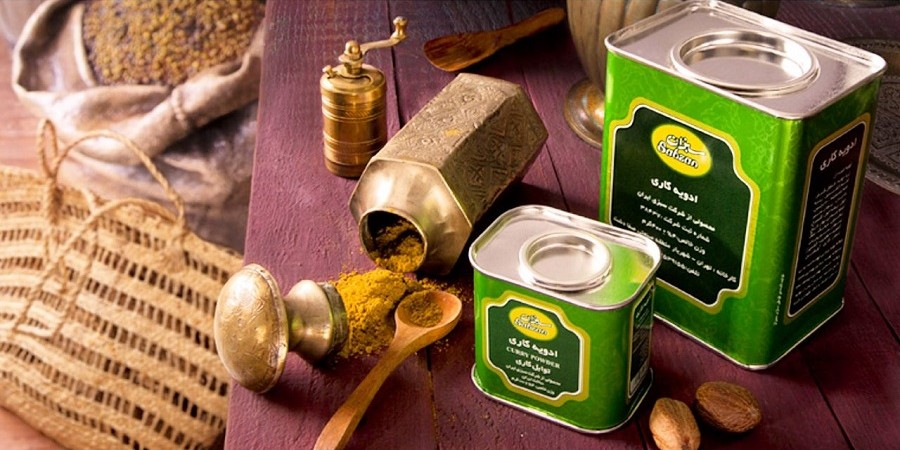 ادویه کاری سبزان ، چاشنی طعم دهنده و مفید برای سلامتی