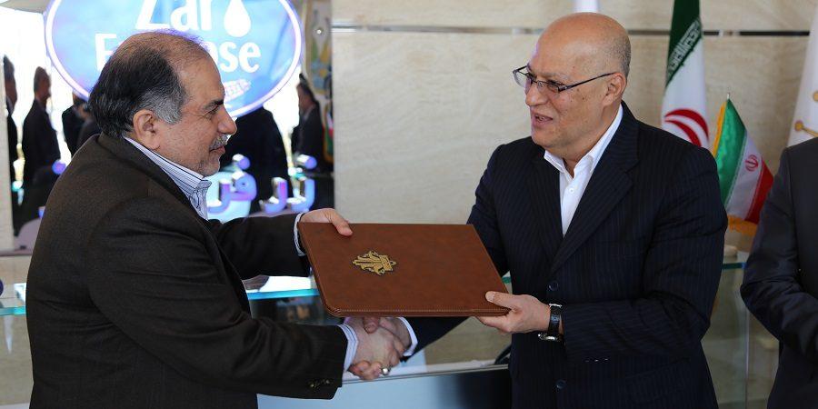 امضای تفاهم نامه همکاری بین بانک کشاورزی وگروه صنعتی زر