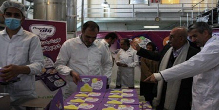 برای اولین بار در ایران کره اسپرید کم چرب پروتئینه در پگاه تهران تولید شد .