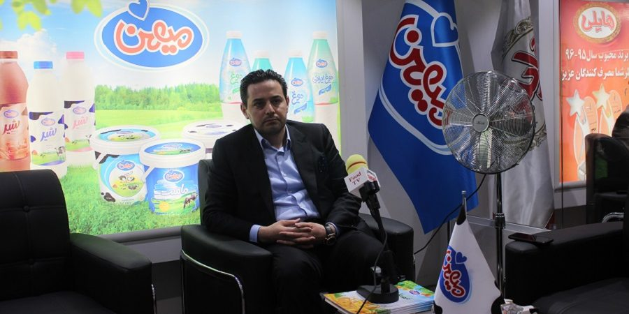 پیام مهندس ابوالفضل پایداری مدیر عامل شرکت میهن از طریق رسانه اگروفود تی وی در نمایشگاه ایران اگروفود