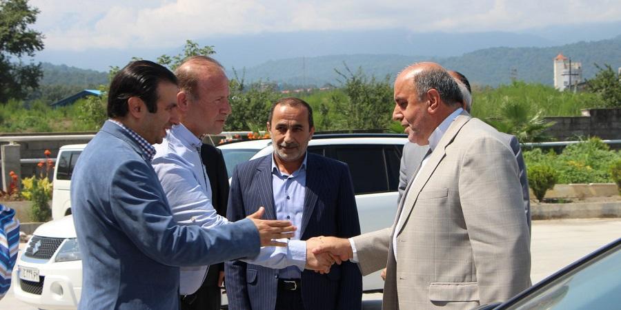شرکت لبنی دوشه آمل هراز میزبان سفیر ارمنستان و تیم همراه + گزارش تصویری