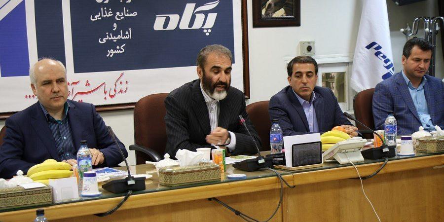 مراسم تودیع و معارفه مدیرعامل شرکت صنایع شیر ایران برگزار شد+گزارش تصویری