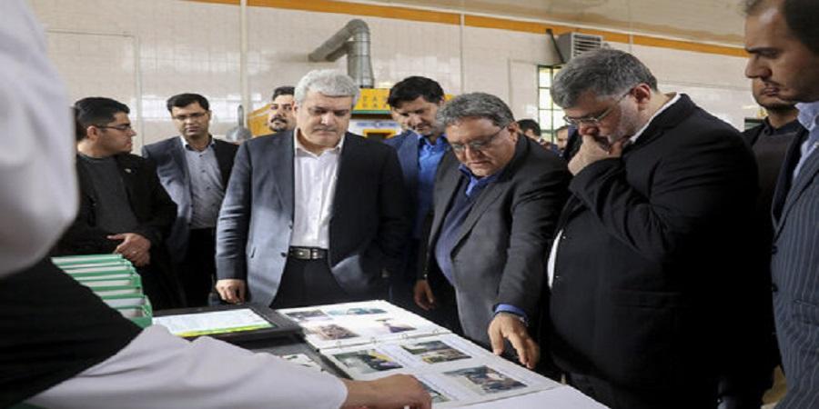 """در بازدید معاون رئیس جمهور عنوان شد: """"تروند زعفران قاین"""" نخستین تولیدکننده اکسترکت زعفران به روش اولتراسونیک در ایران"""
