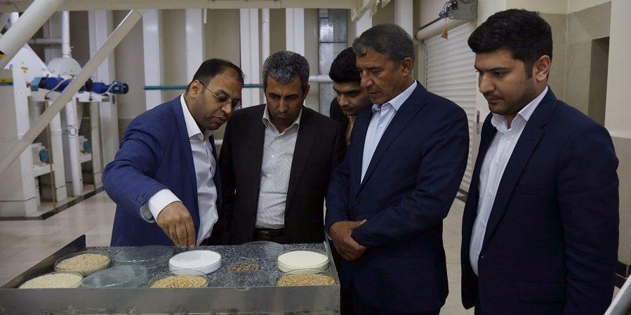 رئیس کمیسیون اقتصادی مجلس در بازدید از زرماکارون :گروه صنعتی زر بر پایه دانش علمی استوار است