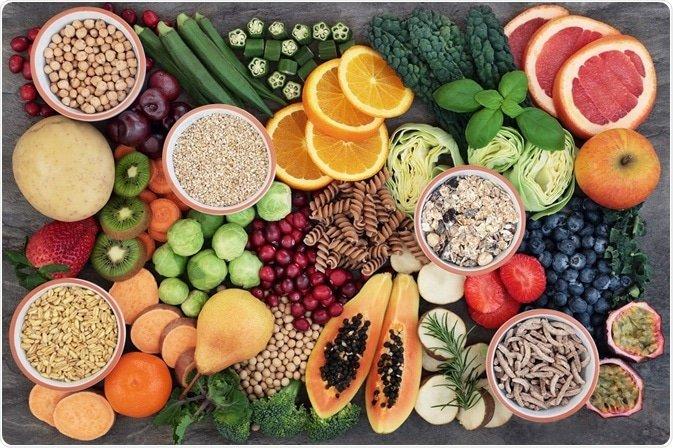 فیبر غذایی موثر در سلامت دستگاه گوارش