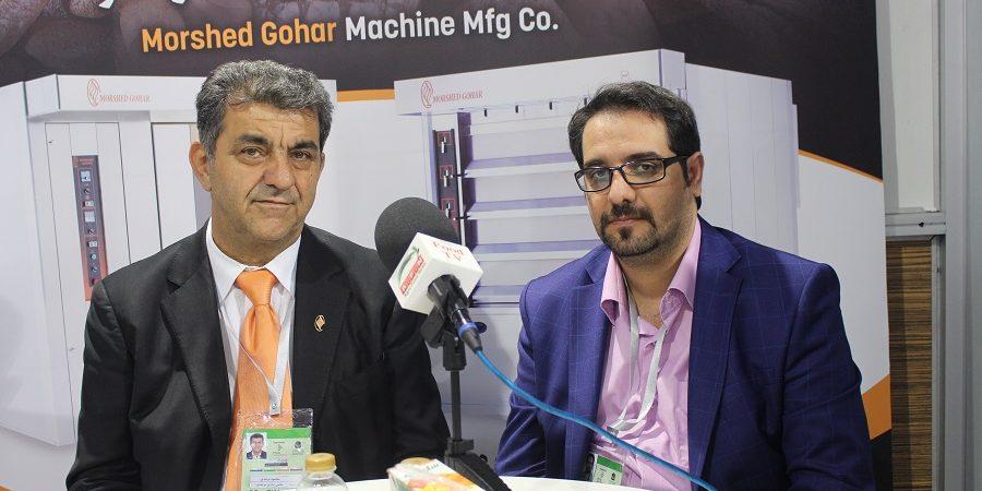 مهندس محمود مرشدی در گفتگو با اگروفودتی وی از ساخت و راه اندازی خط کافه نان توسط گروه صنعتی مرشد گوهر خبرداد