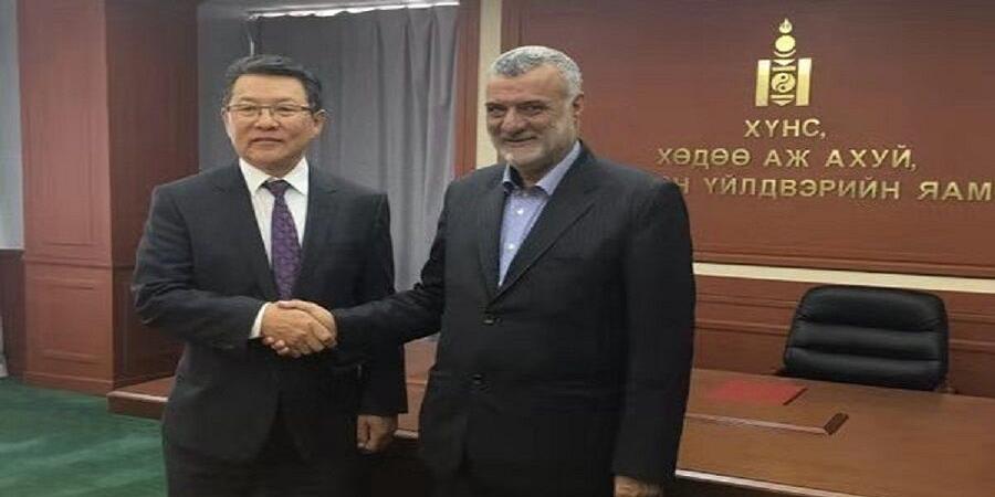 در دیدار وزرای کشاورزی دو کشور اعلام شد: کارگروه مشترک همکاری های ایران و مغولستان تشکیل می شود