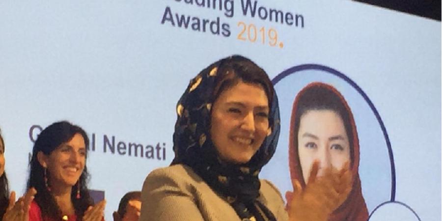 یک ایرانی برنده جایزه جهانی «بانوی پیشرو» شد
