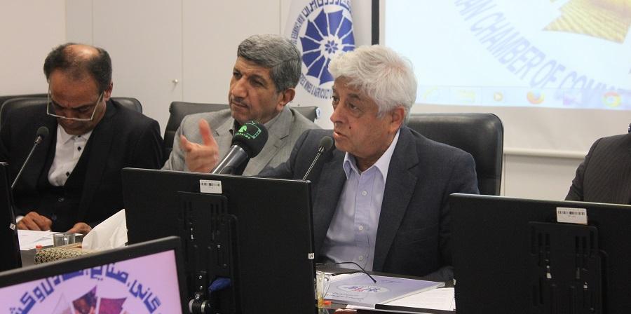 گزارش تصویری اگروفودنیوز از نشست فعالین بخش خصوصی با عباس کشاورز در اتاق بازرگانی ایران