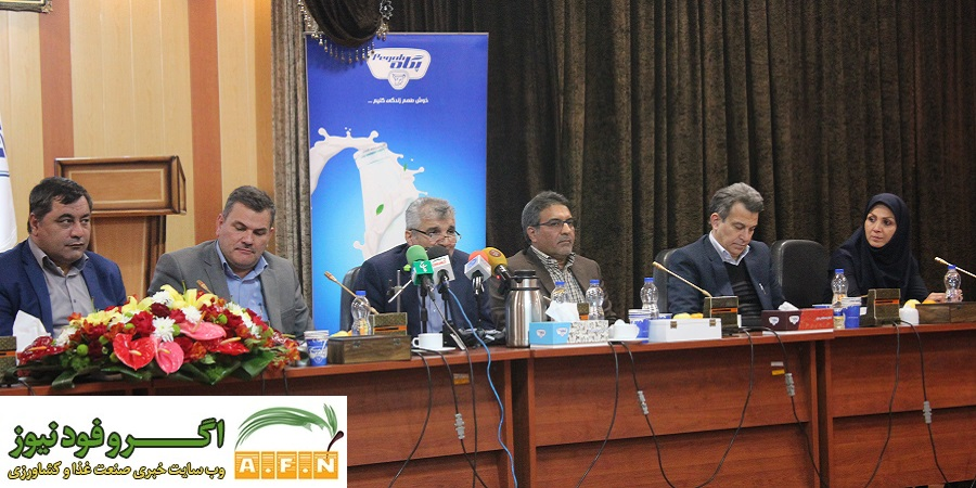 گزارش تصویری اگروفودنیوز از بازدید و نشست خبری معاون امور دامی وزارت جهاد کشاورزی از پگاه تهران