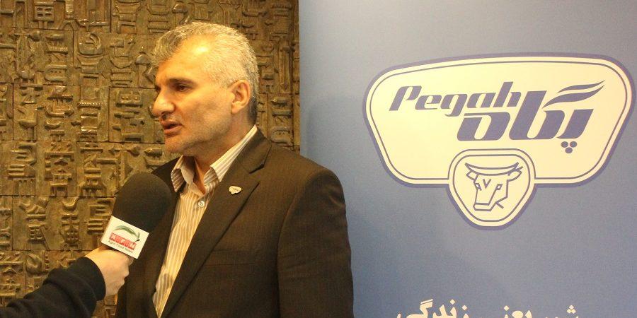 مدیرعامل شرکت صنایع شیر ایران (پگاه) در گفتگو با اگروفودنیوز:به کارگیری افراد متخصص درهمه بخش ها  از تولید تا عرضه موجب جهش تولید خواهد شد