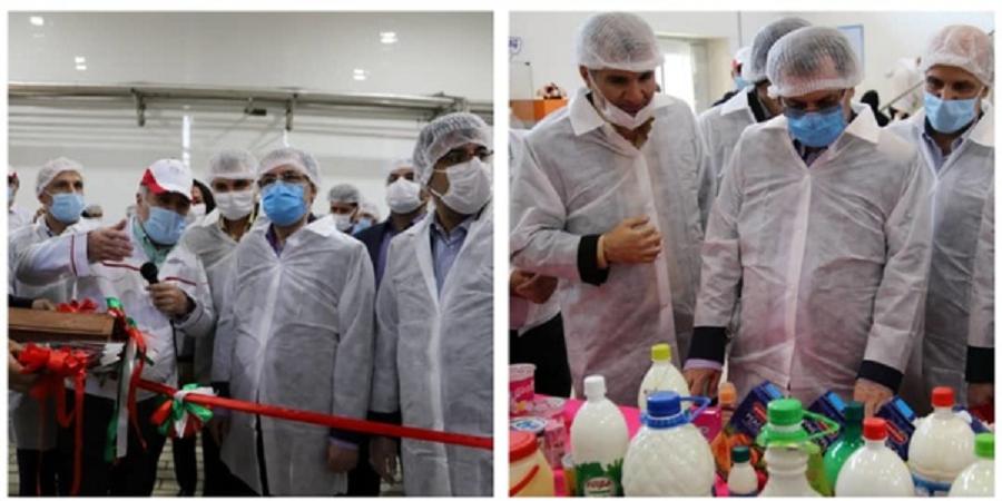 استاندار استان تهران در بازدید از پگاه مطرح کرد: پگاه کشور را در تولید کره به خودکفائی برساند