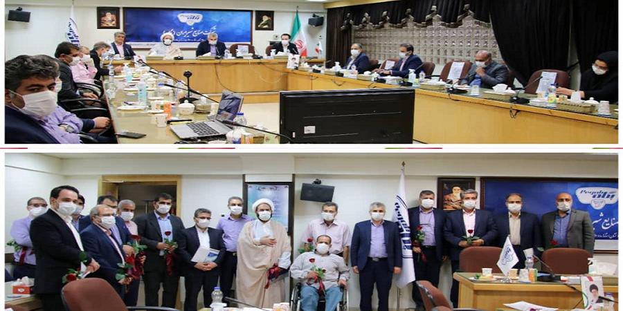 مدیر عامل صنایع شیر ایران در مراسم تقدیر از ایثارگران: حضور در جبهه جنگ اقتصادی جلوه ایثارگری است