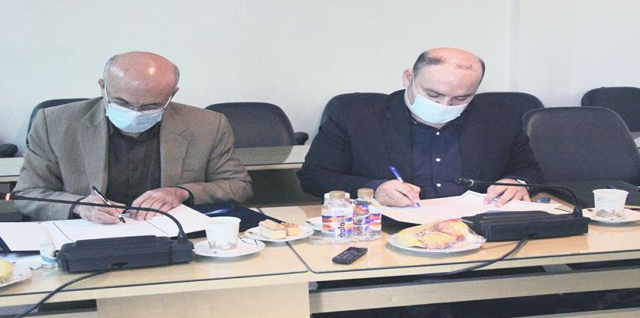 جلسه امضا تفاهم نامه انستیتو تحقیقات تغذیه ای و صنایع غذایی کشور با سازمان شیلات برگزار شد