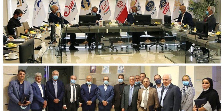در بازدید رییس اتاق بازرگانی ایران از مجموعه زر مطرح شد : انقلاب در حوزه صنعت شیرینی با زر کام