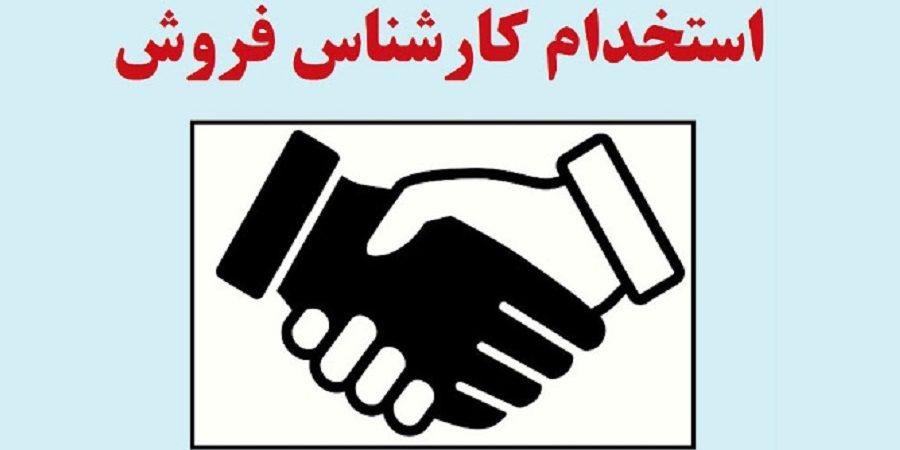 استخدام کارشناس فروش در شرکت صنایع غذایی واقع در تهران