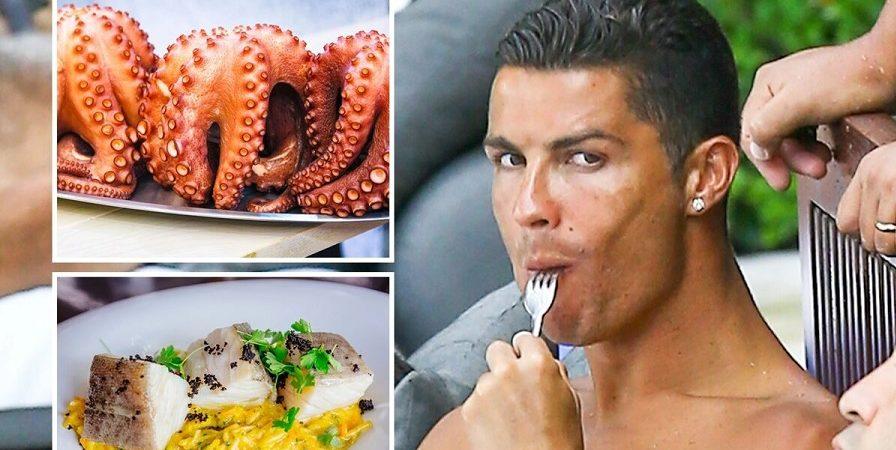 رونالدو منوی غذایی به سرآشپز منچستریونایتد داد/ تصویر غذای عجیبی که محبوب کریستیانو است